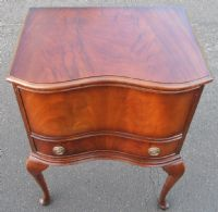 Queen Anne Style Mahogany Workbox